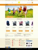 Адаптивный интернет-магазин товаров для детей